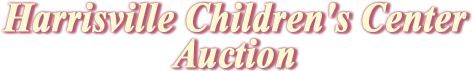 Harrisville Children's Center Auction